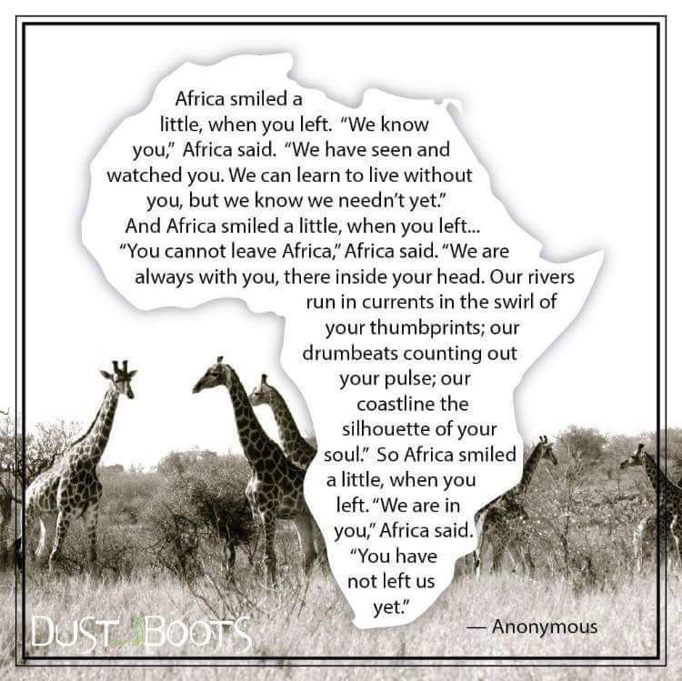 our heart is africa