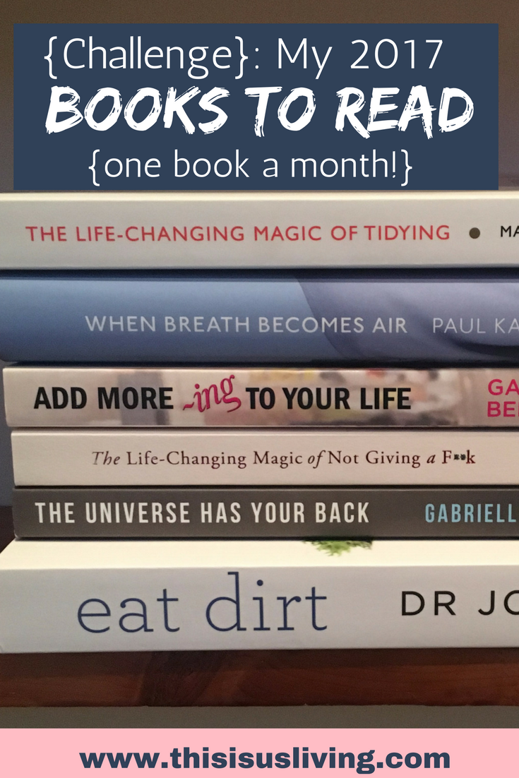 My 2017 reading list challenge. to read one book a month. check out the post for the books i am reading.