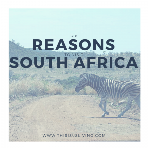 Six reasons to visit South Africa