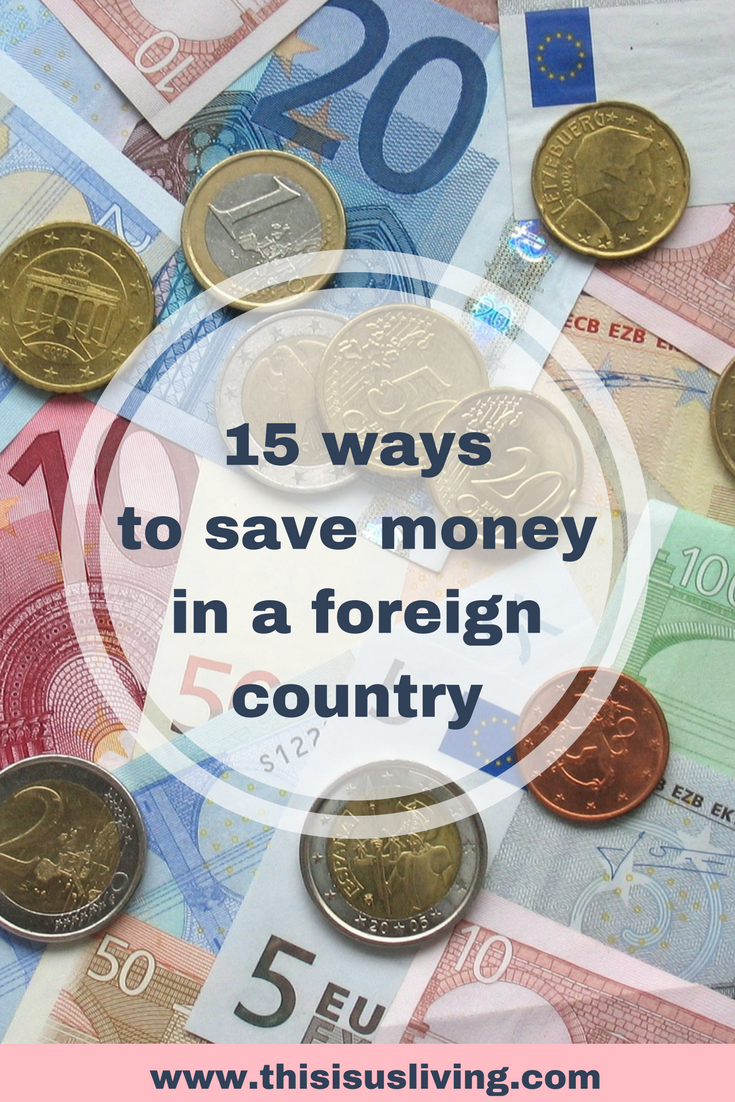 15 ways to save money while living in Ireland.