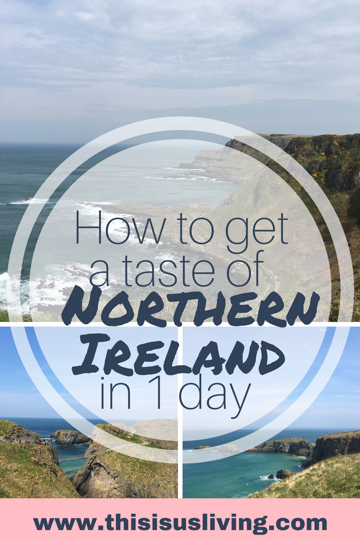 Take a bus tour up to Northern Ireland from Dublin. In one day: stop at several stops, learn a bit of Irish history and see beautiful views and coastlines.