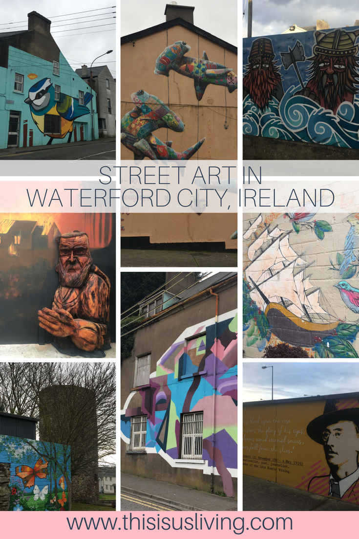 Street art in \waterford, read the post for more things to see and do in Waterford City, Ireland