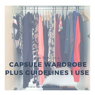 Read this post to find out exactly what is currently in my wardrobe, and the guidelines I use to have a capsule wardrobe.