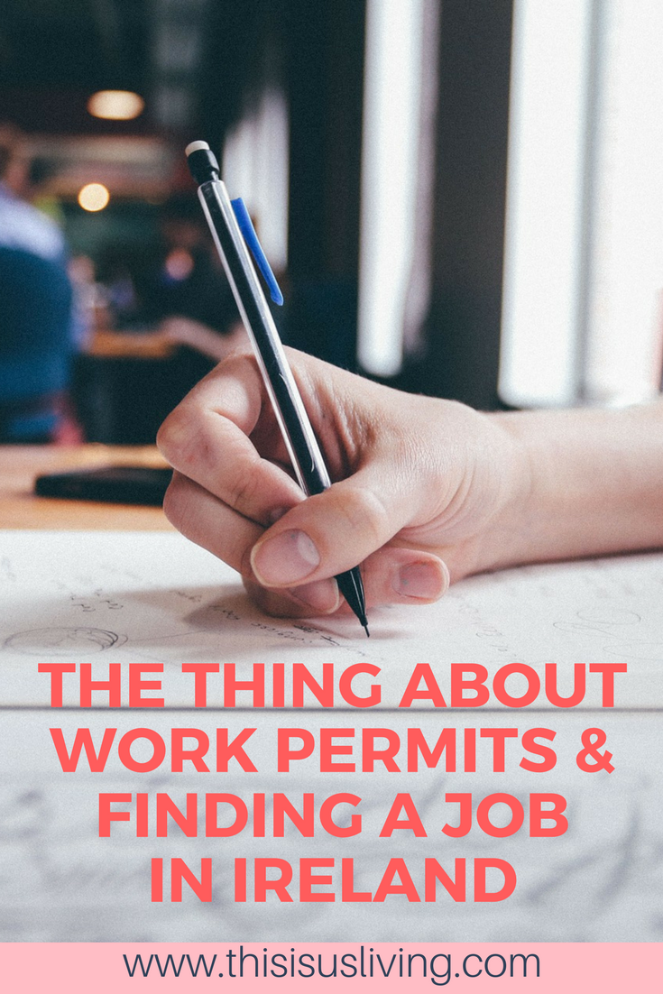 Working in Ireland as a foreigner, read this process to get all the information you need to know about work permits and finding a job in Ireland. Expat life. Living and working in a foreign country.