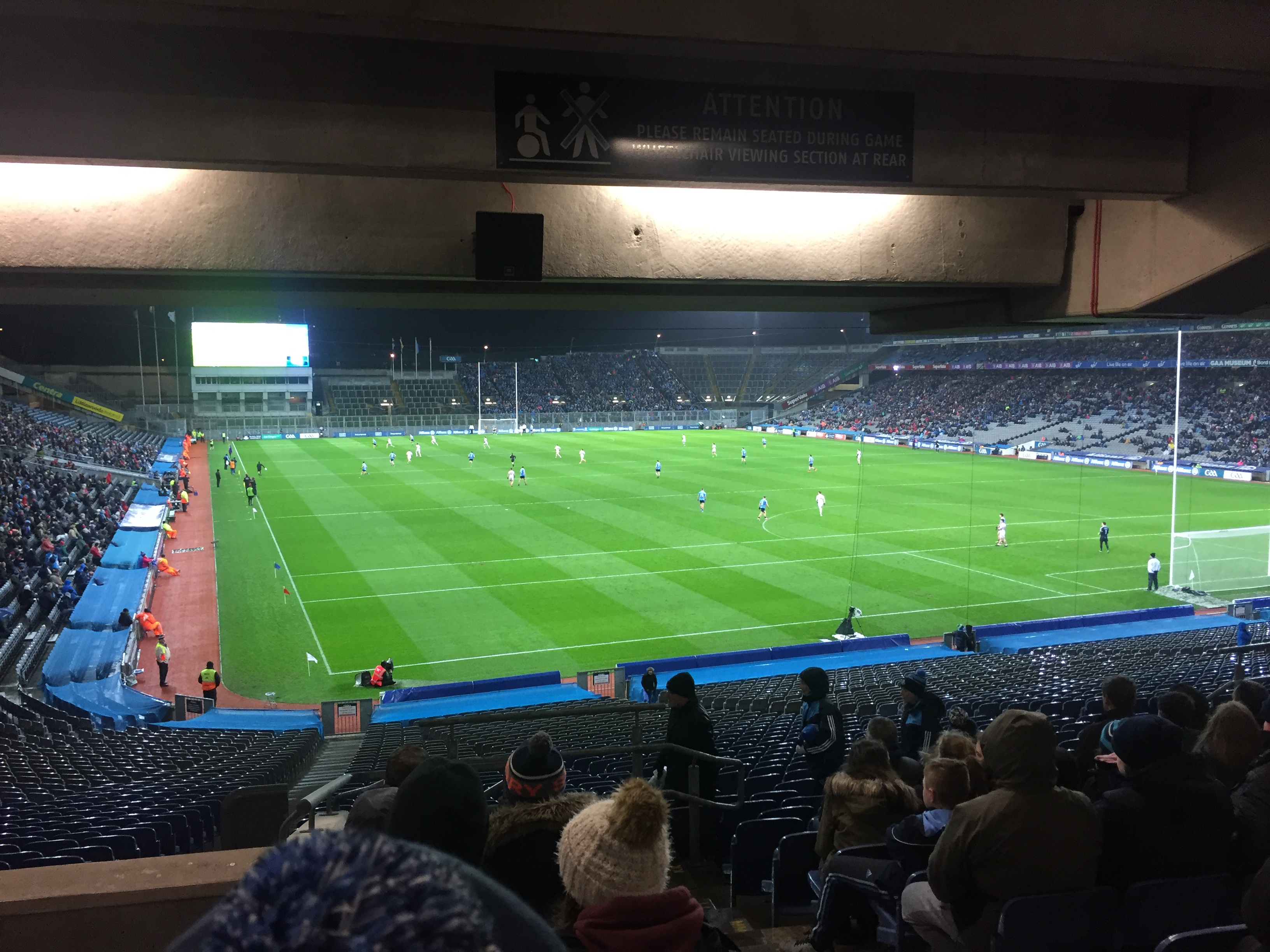 GAA game at Croke Park, Dublin, Ireland