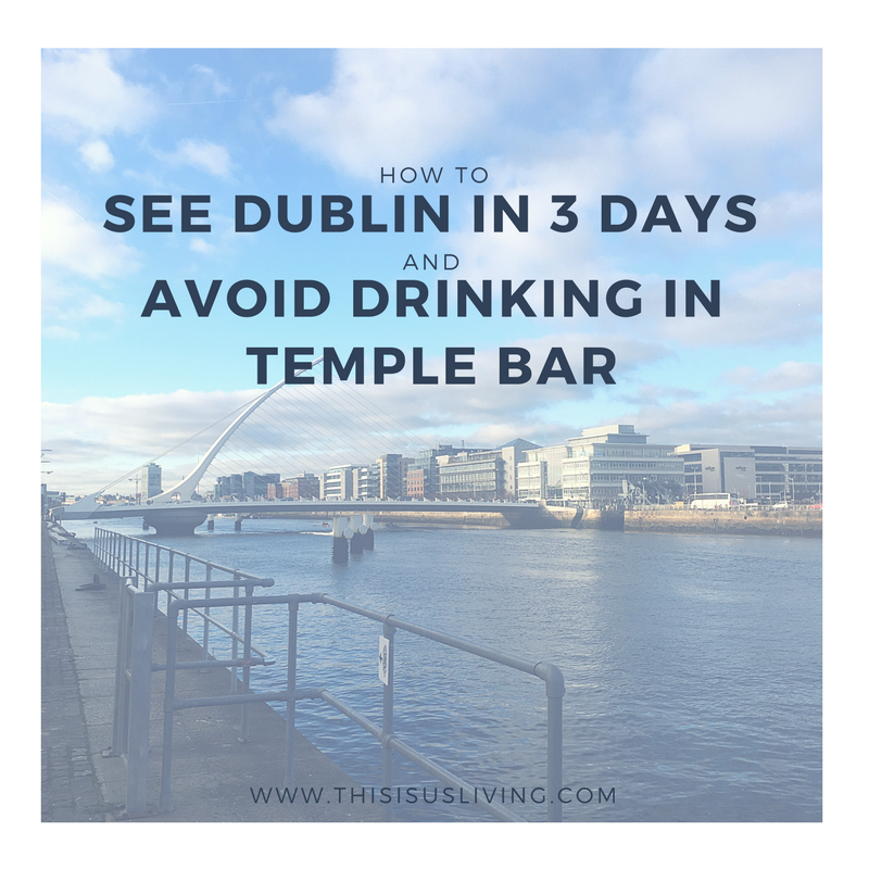 How to see Dublin in 3 days. Ideas that get you out of the city, and exploring more of what Dublin has to offer - and avoiding drinking in Temple Bar.