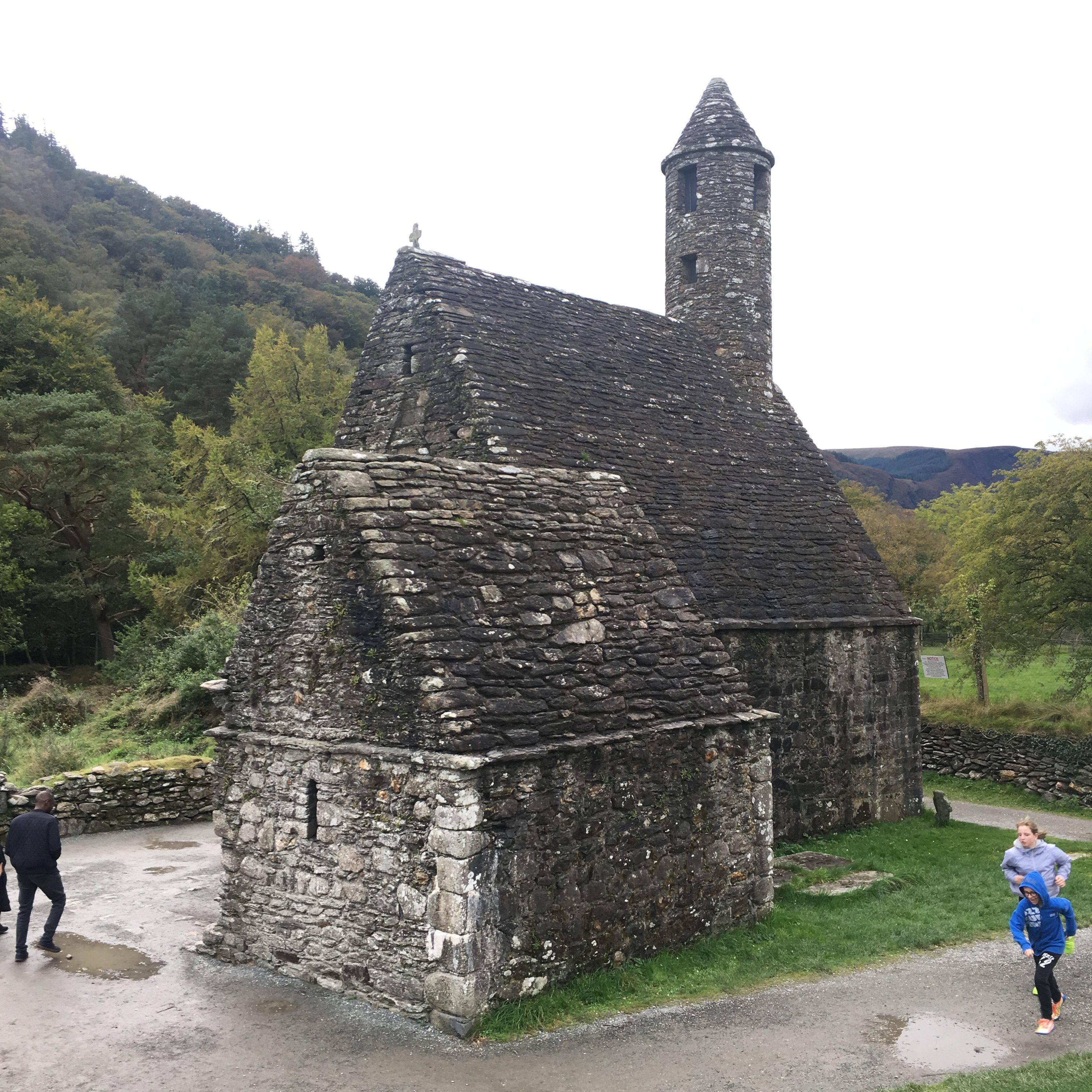 Glenfalough Monastic Church and Cemetery, Wicklow, Ireland