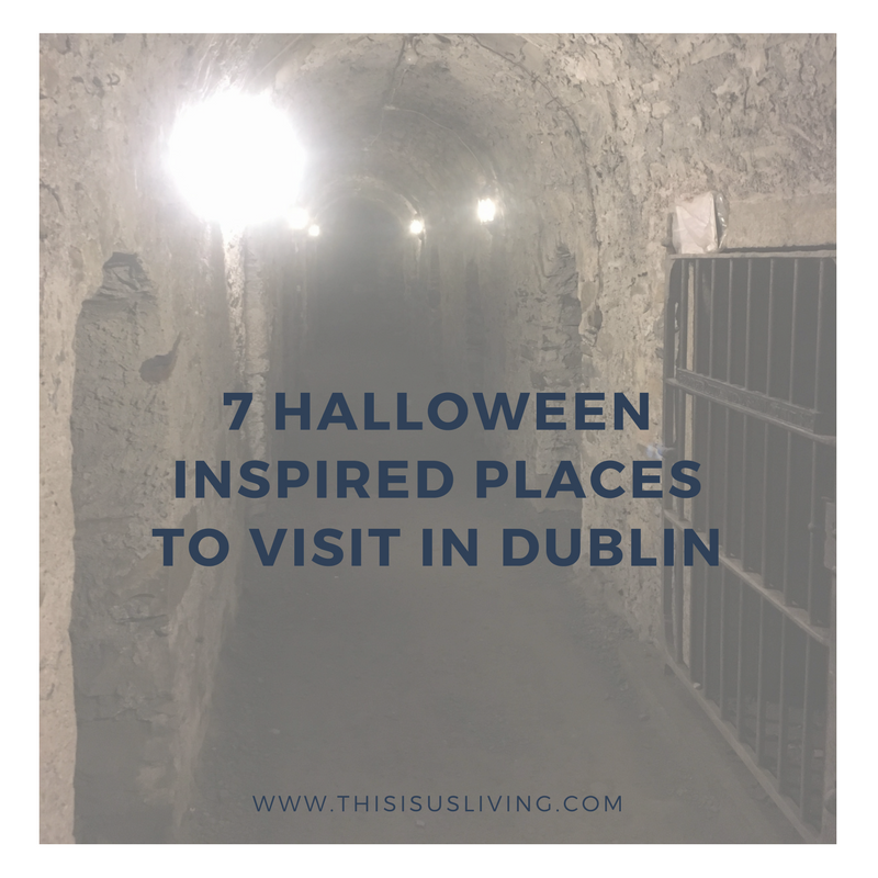 If you are visiting Dublin in the month of October or over Halloween, here are some Halloween inspired places you can visit. The places are available to visit all year round, but just given that Halloween is coming up, I thought I would mention some places that may or may not be haunted. A few places that are spooky, but are also very interesting too - perfect for a Halloween night out.