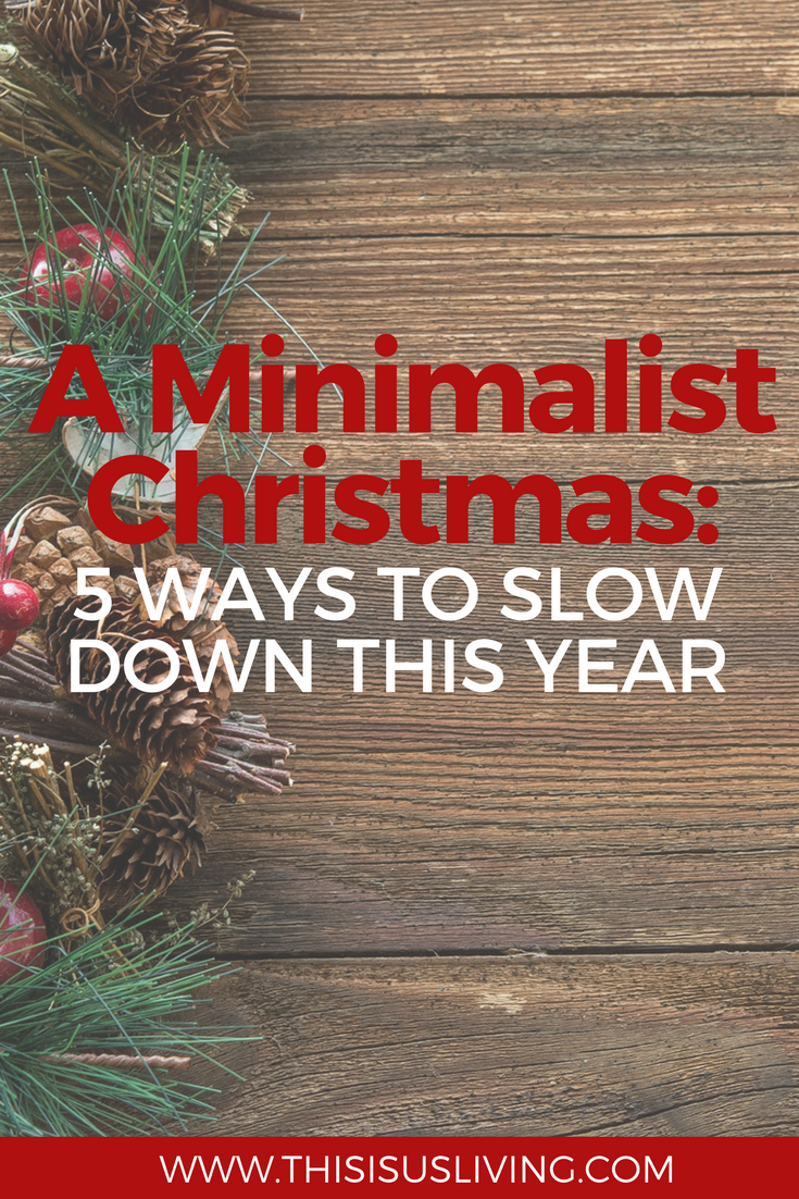 A Minimalist Christmas: This year we want to try create new Christmas traditions, ones without gifts. We want to really focus on the things that matter most to us.