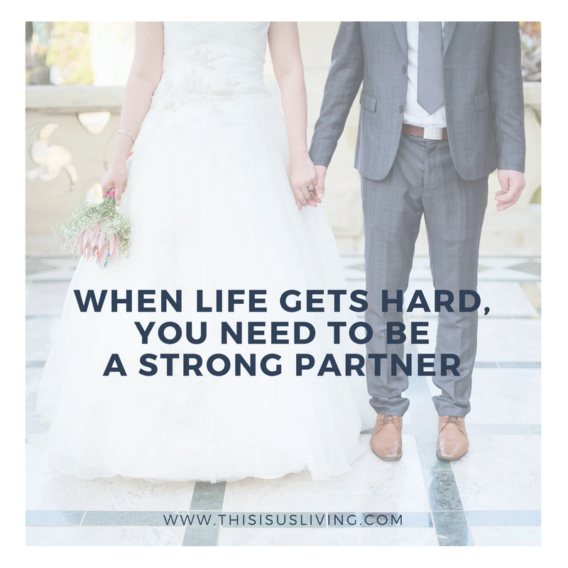 Marriage is tricky even before adding things like moving countries and being an expat. I've learnt you need to be a strong partner. Buckle up, this post is full of the feels.
