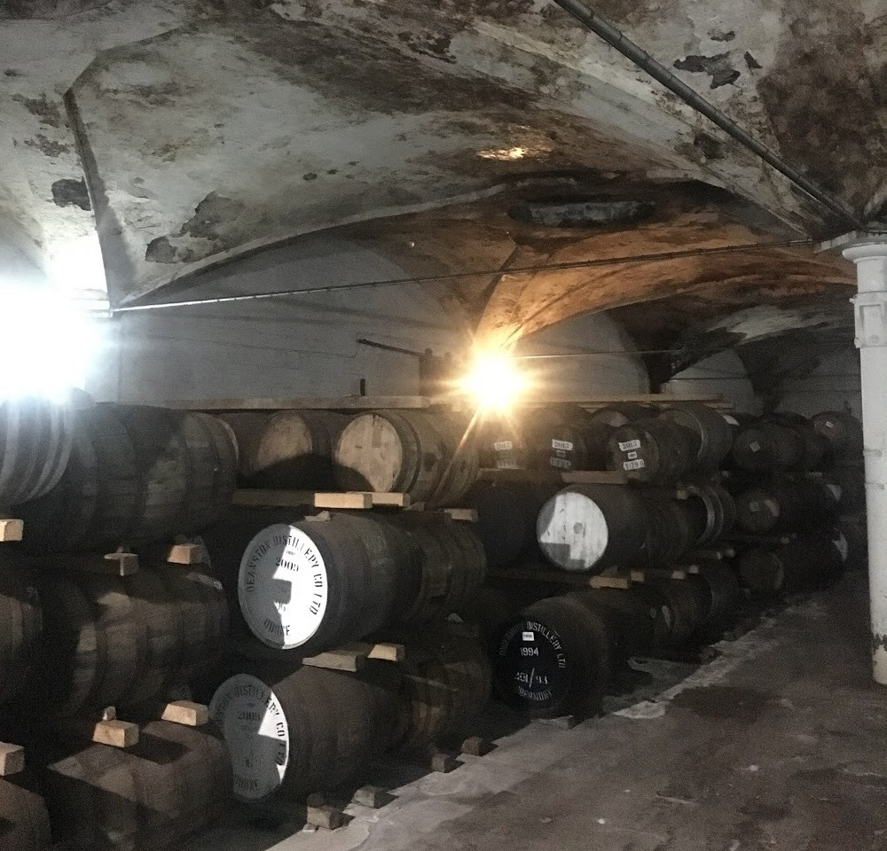 Deanston Whisky Distillery, Doune, Scotland, UK