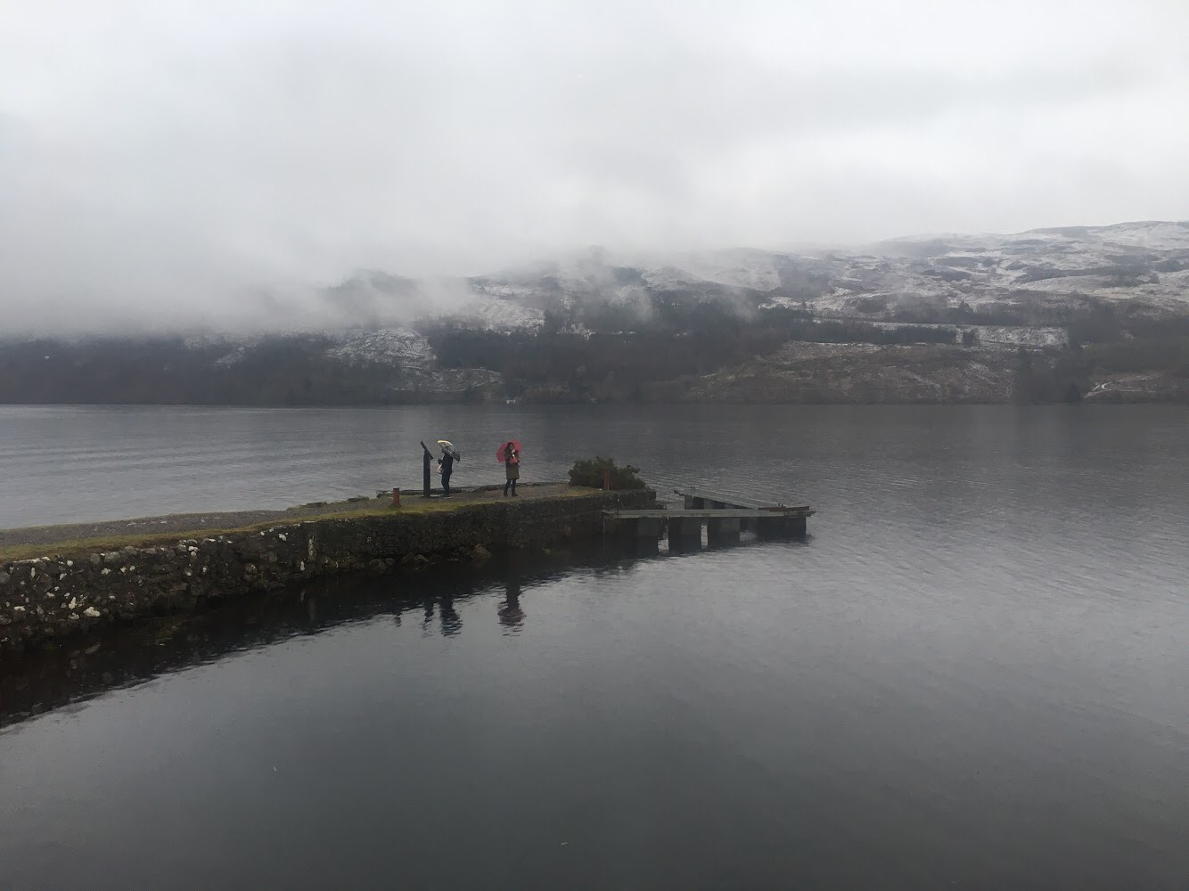 searching for Nessie at Loch Ness, Scotland, UK