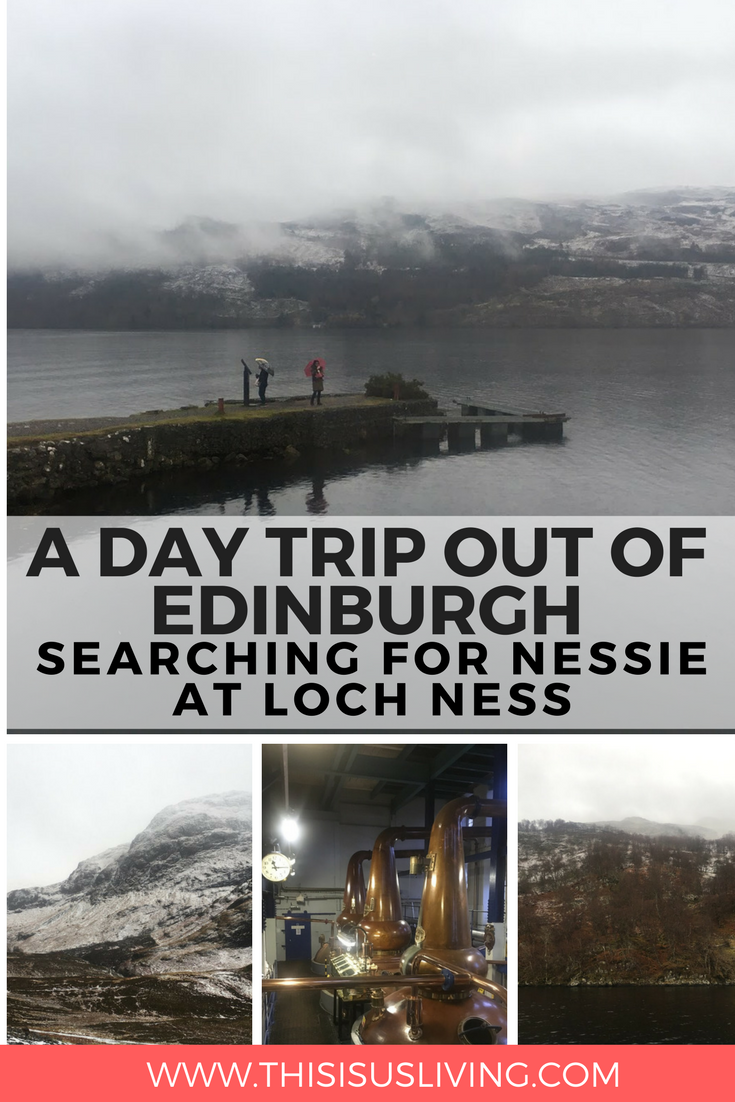 Searching for Nessie at Loch Ness: A Day Trip Out of Edinburgh with Ness Bus Tour is highly recommended. We got to see a little bit of the Scottish Highlands while visiting the United Kingdom