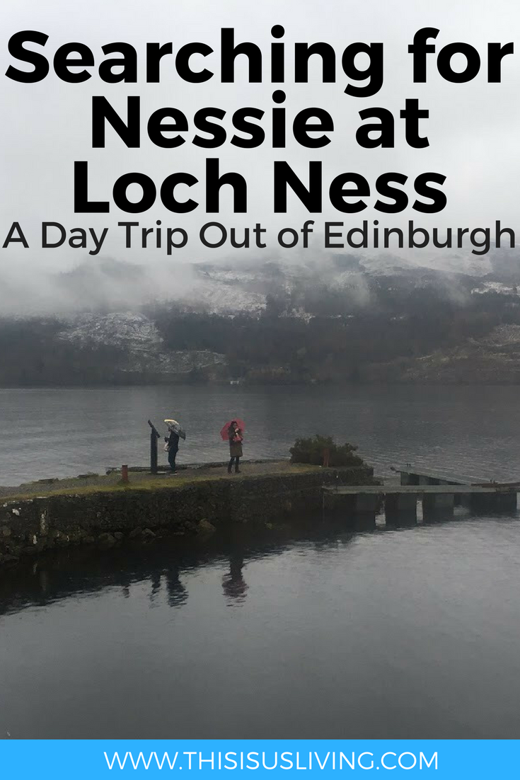 Searching for Nessie at Loch Ness: A Day Trip Out of Edinburgh with Ness Bus Tour is highly recommended. We got to see a little bit of the Scottish Highlands while visiting the United Kingdom.