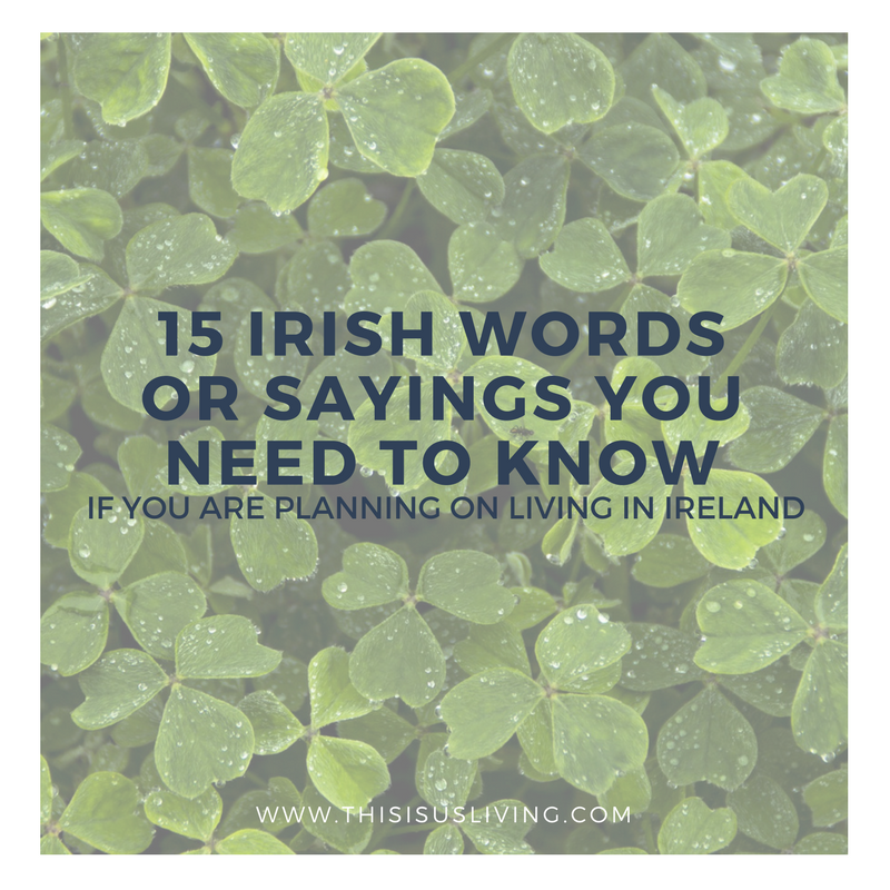A large part of moving abroad is learning more about how other people live, and how to communicate with people is how we all form connections and make friends. Here are some Irish sayings and words you need to know if you plan on living in Ireland long term.