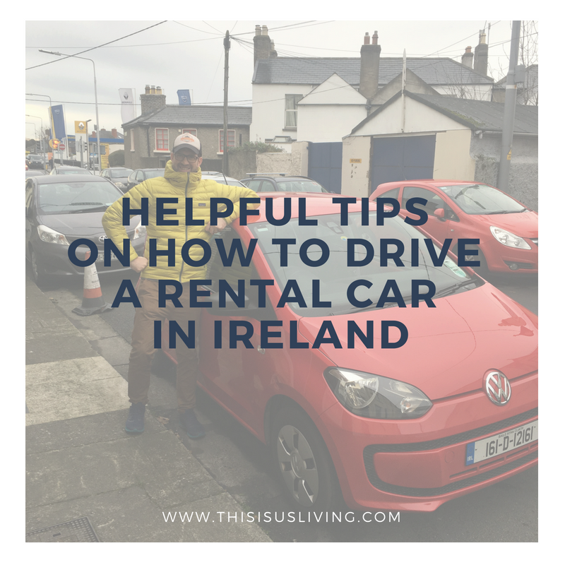 Helpful tips on how to drive a rental car in Ireland. Tips for renting a car, and how to drive around Ireland