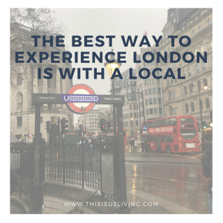 We love travelling to a new place and seeing it from a London local perspective and we have to say that our friends really know how to pull out all the stops to ensure we had the most amazing weekend exploring London.