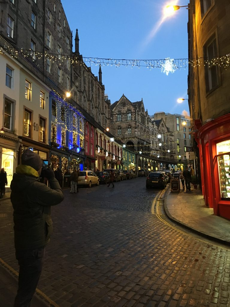 Victoria Street, Diagon Alley, Edinburgh