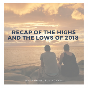 It is because of all the shitty moments that the sweet moments were made even sweeter. If I hadn't gone through all that crap, I would never have savoured all the joy2018 did bring. So here is my recap - the good, the bad and the out-right stressful life that was this past year.