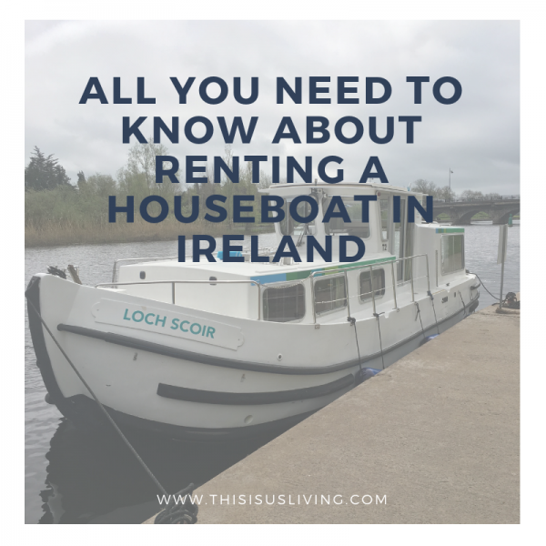 Renting a houseboat in Ireland has been on our wish list for a while, and I am so happy that this was the year we finally got to do it! I decided to write a post all about houseboating in Ireland because a lot of followers on Instagram reached out with questions - and honestly, it was one of the best holidays we have done.