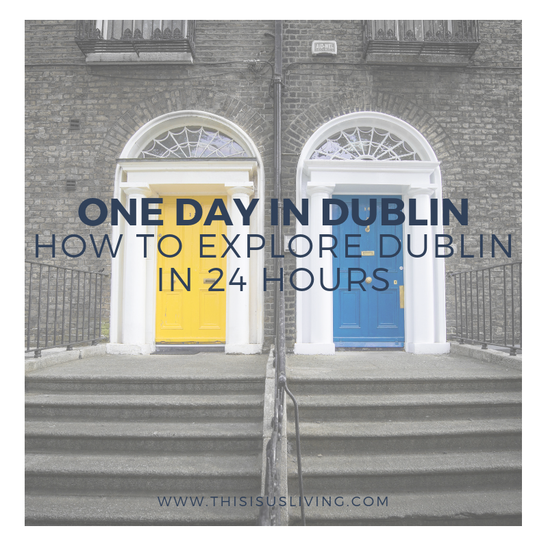 Short on time? Get the most out of 24 hours in Dublin by reading this post of the best way to explore Dublin city in one day!