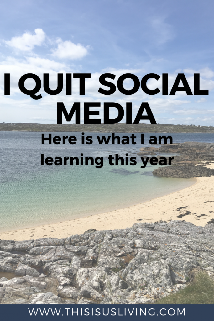 I quit social media, and the world kept turning. Here is what I am learning in this new year.